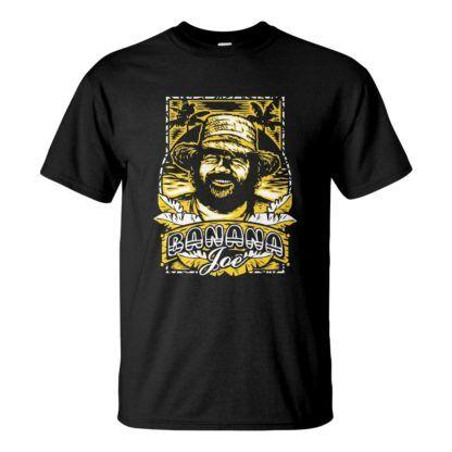 Férfi Bud Spencer póló fekete színben - Banana Joe / Banános Joe póló