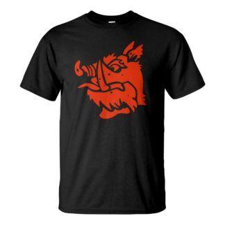 Férfi Fekete lovag póló fekete színben - Gyalog Galopp póló