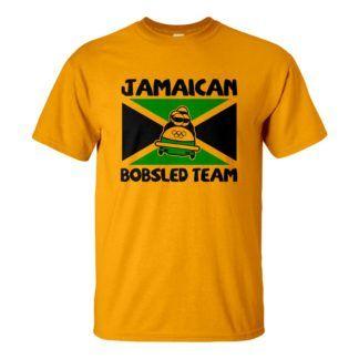 Jamaikai Bobcsapat póló - Jamaican bobsled team