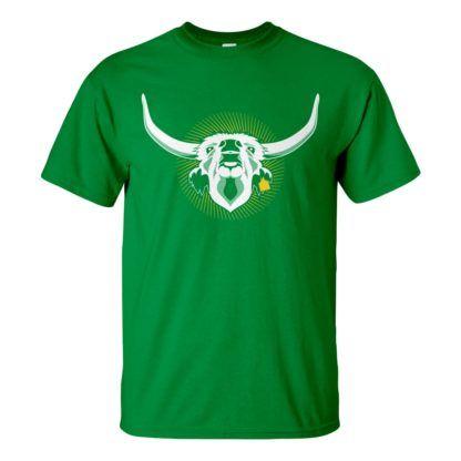 Férfi Szürkemarha póló zöld színben - Az igazi hungarikum