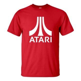 Férfi ATARI póló piros színben - Retro gamer vagy konzol póló
