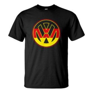 Férfi VW póló fekete színben - Az igazán német volkswagen póló