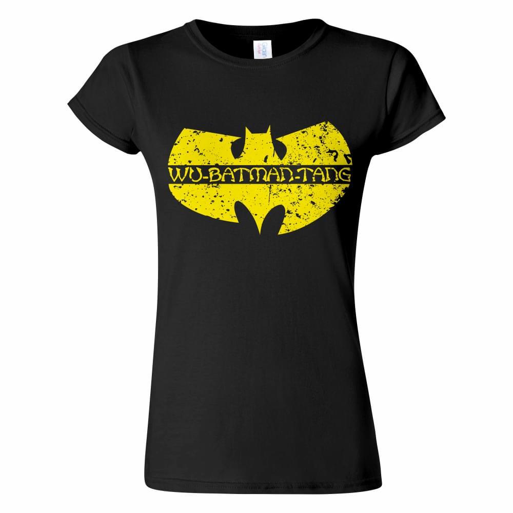Női Wu-Tang Batman póló fekete színben - A denevérember klán bf38fd6d36